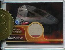 Star Trek Voyager Quotable Relic Card Delta Flyer [3 Case]