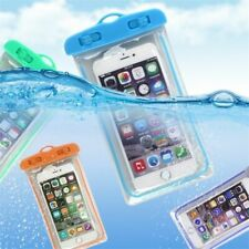 Waterproof Mobile Phone Bag Pouch Transparent Touchable Dry Floating Airbag Case
