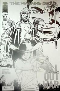Walking Dead #115 Kirkman Adlard Image Comics first print Cover N