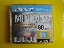 1 MEMOREX MD80 Crystal Minidisc - Opened/Never used