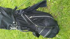 Mizuno GTO golf stand bag 6 way Divider  With Rain Cover Black
