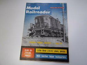 Model Railroader magazine March 1962