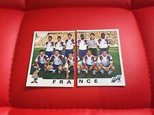 Panini Euro 92 1992 Football Soccer Stickers - France - 39 40 - New
