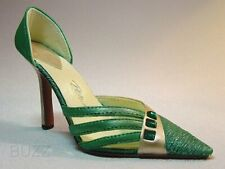 Exquisite Emerald May Birthstone Rich Green Pump Trio Stones Just The Right Shoe