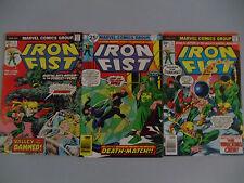 Lot of 3 comics Iron Fist 2 6 11 Marvel Colleen Wing Wrecking Crew Khan K'un Lun
