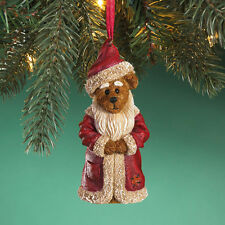 BRAND NEW in BOX Santa Claus Beard Suit Boyds Bear Christmas Ornament 4016667
