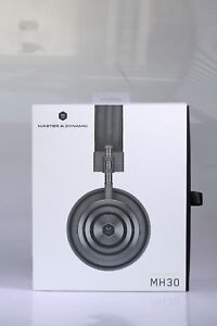 Master & Dynamic MH30 MH 30 Foldable On-Ear Headphones Gun Metal New