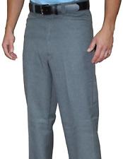 SMITTY | BBS-380 | Flat Front Plate Pants | Heather Gray | Baseball Softball
