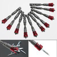 """1x Ph2 65mm 1/4"""" Hex Shank Drywall Magnetic Screwdriver Plasterboard Screw L4L2"""