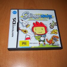 NINTENDO DS GAME - SCRIBBLENAUTS + BOOKLET MANUAL