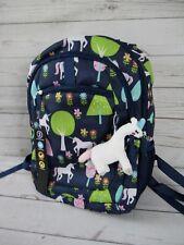 "NEW Unicorn Print Kids Girls Back To School Backpack Book Bag Full Size 16"""