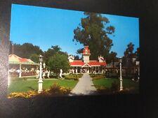 Frontier Village Amusement Park San Jose train station Post postcard