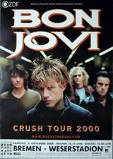 BON JOVI - 2000 - Konzertplakat - Concert - Crush - Tourposter - Bremen
