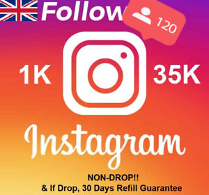 Instagram REAL HQ UK Follow | 𝐍𝐎𝐍𝐃𝐑𝐎𝐏! | Instant! 🔥🔥| 30 Days Refill