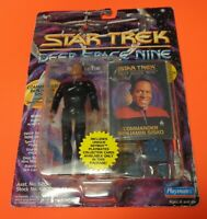 Vintage 1993 Playmates STAR TREK Commander Benjamin Sisko Action Figure NEW RARE