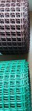 20mm Green / Brown Plastic Garden PVC Mesh Wire Fencing 5m 10m 20m