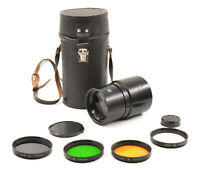 3M-5A/ZM-5A 500mm F8 Lens For M42 Screwmount w/ Case & Filters!
