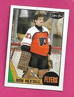 1987-88 OPC # 169 FLYERS RON HEXTALL  ROOKIE NRMT-MT CARD (INV# D6201)