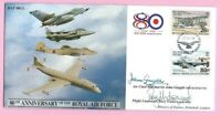 RAF 80(2) - 1998 FLOWN & Signed FDC - 80th ANN. of the ROYAL AIR FORCE - 172/200