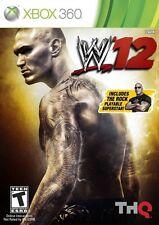 WWE '12 - Xbox 360 Game