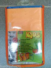 Tablette - support à  dessin pour enfant - toile rigide orange