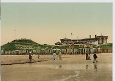 P. Z. Allemagne, Norderney, Giftbude PZ vintage photochromie, Deutschland phot