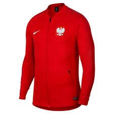 Men's Nike 2018/19 Poland National Anthem Jacket 839600-611 Red