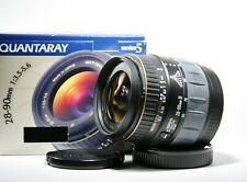 Quantaray 28-90mm 1:3.5-5.6 zoom Lens For Minolta AF D New In box