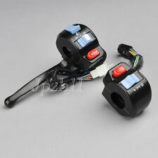 """Motorcycle Scooter 7/8"""" Handlebar Horn Turn Signal Light Controller Switch J04"""
