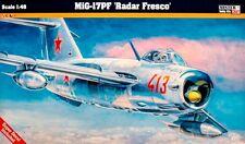 MiG 17 PF fresque D (vietnamien, soviétiques, polonais, allemand MKGS) 1/48 MISTERCRAFT