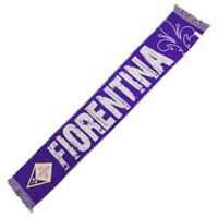 Sciarpa Fiorentina calcio Viola Jacquard ACF Ufficiale Originale calda invernale