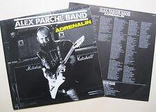 LP Alex Parche Band - Adrenalin - mint- . OIS