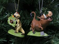 "The Lion King ""Timon & Pumbaa"" Christmas Ornament Set"