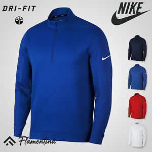 Nike Therma Repel Top Half-Zip Golf Thermal Fabric Water Repellent Sports