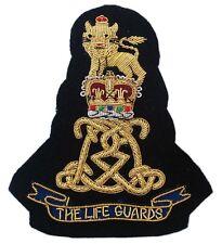 The Life Guards Regiment, Blazer Badge Wire Bullion, LI-EMB-0007