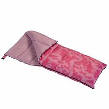 wenzel moose sleeping bag pink 40 degree camping girls kid new gift backyard out
