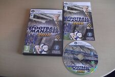 FOOTBALL MANAGER 2010 PC/MAC DVD V.G.C. ( football management simulation )