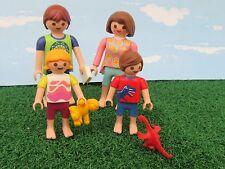 Playmobil Famille de Quatre prêts pour Lit-House-Hotel --- Nº 32