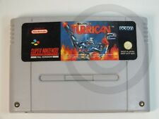 NINTENDO SNES GAME Turrican 2, used but GOOD