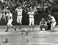 Carlton Fisk 1975 World Series Gm 6 Home Run Boston Red Sox Premium POSTER Print