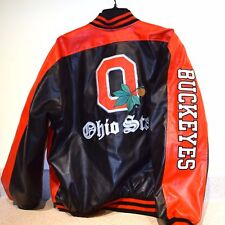 Ohio State vinyl quilted  jacket