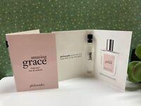 2x Philosophy Amazing Grace Fragrance Eau De Toilette 0.05 OZ Each Sample Dabber