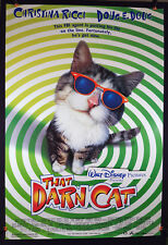 Walt Disney's That Darn Cat 1996 Original Movie Poster 27x40 Rolled Double-Sided