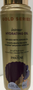 Pantene Gold Series Intense Hydrating Oil Infused w Argan Oil 3.2oz