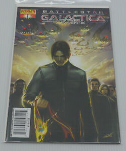 BATTLESTAR GALACTICA ZAREK COMIC BOOKS ISSUES No. 1 & 4, DYNAMITE 2007