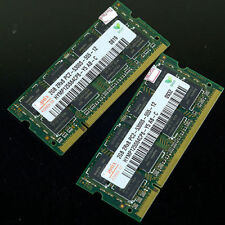 Hynix 4gb 2x 2gb Pc2-5300 2rx8 Ddr2 667 Mhz Laptop 200pin Memoria So-dimm 5300