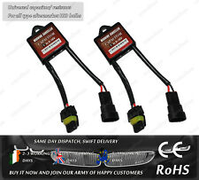 HID Xenon Kit CanBus Warning Error Free Capacitor Resistor Decoder For BMW VW