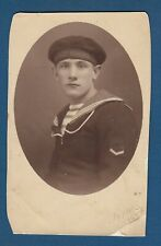 Croatian Navy Army, soldier, sailor, uniform, vintage photo 1920s !