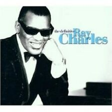 "RAY CHARLES ""THE DEFINITIVE RAY CHARLES"" 2 CD BEST OF"