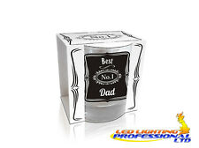 WHISKY GLASS - BEST DAD - NOVELTY - FUNNY GIFT - FATHER'S DAY - EX24/01